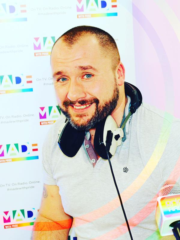 Peter darrant pride radio